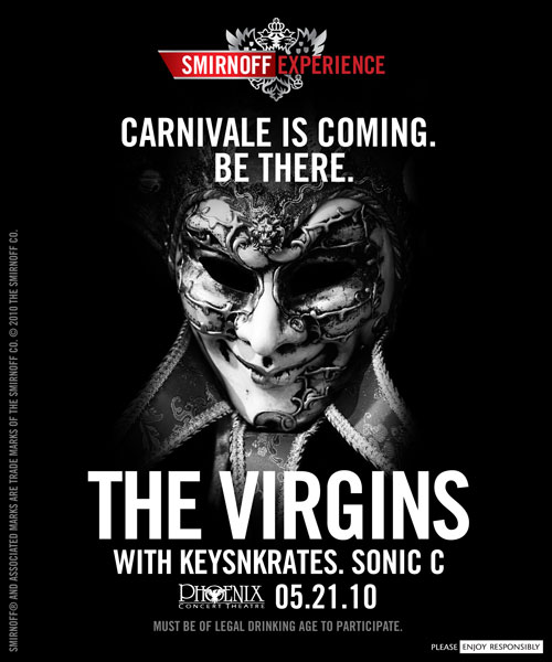 Smirnoff Expierence with KeysNKrates, The Virgins and Sonic C