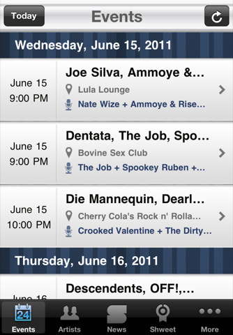myNXNE iPhone App